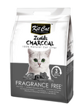 Kit Cat Zeolite Charcoal Fragrance Free 4kg | Perromart Online Pet Store Singapore