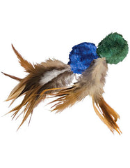 Kong Crinkle Ball w/Feathers Cat Toy | Perromart Online Pet Store Singapore