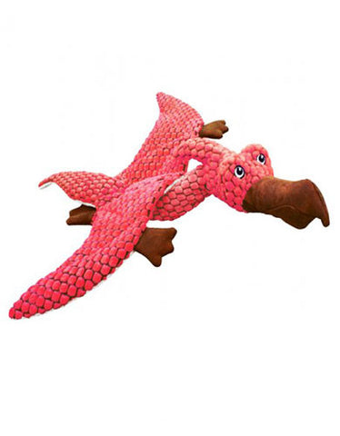 Kong Pterodactyl Coral Dog Toy | Perromart Online Pet Store Singapore