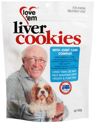 love 'em Joint Care Complex Cookies for Dogs | Perromart Online Pet Store Singapore
