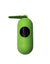 Paws & Pal Walk Pal Poop Bag Dispenser with 1 Roll Refill (Light Green)
