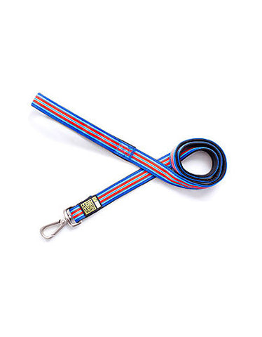 Max & Molly Hampton Strip Blue Dog Short Leash | Perromart Online Pet Store Singapore