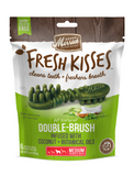 Merrick Fresh Kisses Double Brush Infused with Coconut Botanical Oils Dog Treats | Perromart Online Pet Store Singapore
