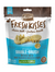 Merrick Fresh Kisses Double Brush Infused with Mint-Flavoured Breath Strips Dog Treats (4 Sizes) | Perromart Online Pet Store Singapore