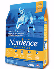 Nutrience Original Chicken & Brown Rice Medium Breed Adult Dry Dog Food | Perromart Online Store Singapore