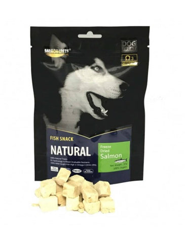Salmon4Pets Freeze Dried Salmon for Dog Treat 57g | Perromart Online Pet Store Singapore