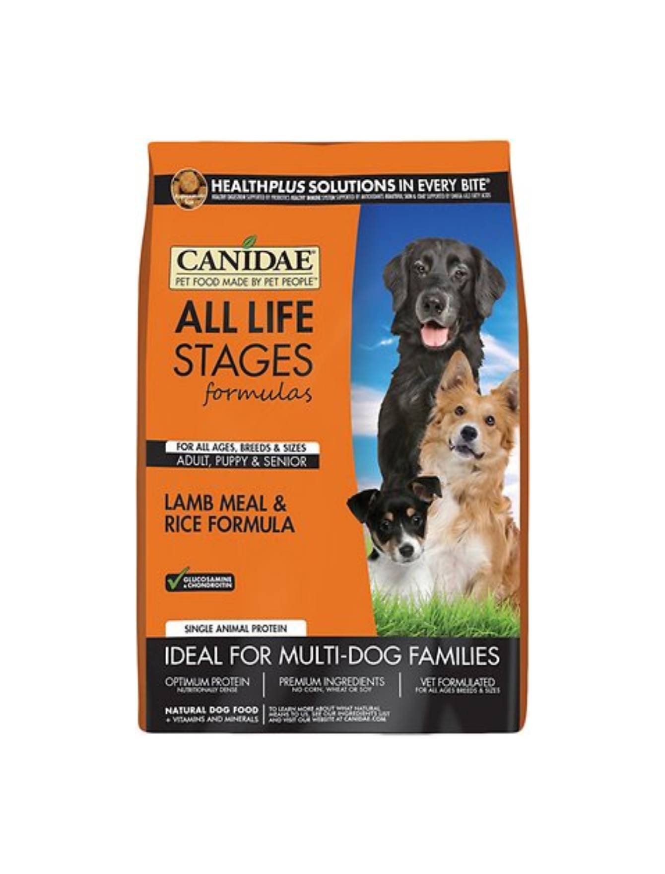 Canidae All Life Stages Lamb And Rice Dry Dog Formula   Perromart Online Pet Store Singapore