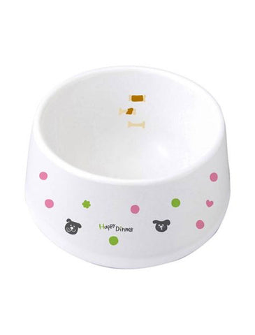 Marukan Easy Meal Ceramic Dog Dish | Perromart Online Pet Store Singapore