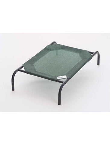 Coolaroo Elevated Dog Bed Green | Perromart Online Pet Store Singapore