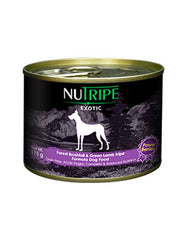 Nutripe Exotic Brushtail & Green Tripe Dog w Berries 175g | Perromart Online Pet Store Singapore