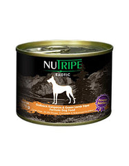 Nutripe Exotic Kangaroo & Green Tripe Dog w Berries 175g | Perromart Online Pet Store Singapore