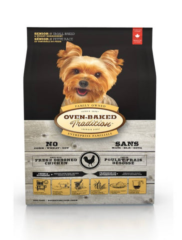 Oven Baked Tradition Senior (Small Breed) Dog Dry Food (2 Sizes)| Perromart Online Pet Store Singapore