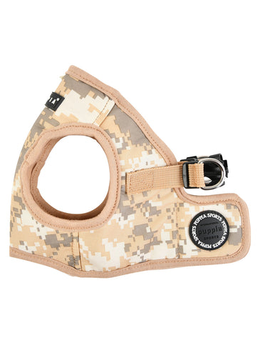 Puppia Beige Camo Sentinel Vest Harness for Dogs (4 Sizes) | Perromart Online Pet Store Singapore