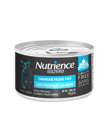 Nutrience Subzero Canadian Pacific Pate Grain Free Wet Dog Food 170g