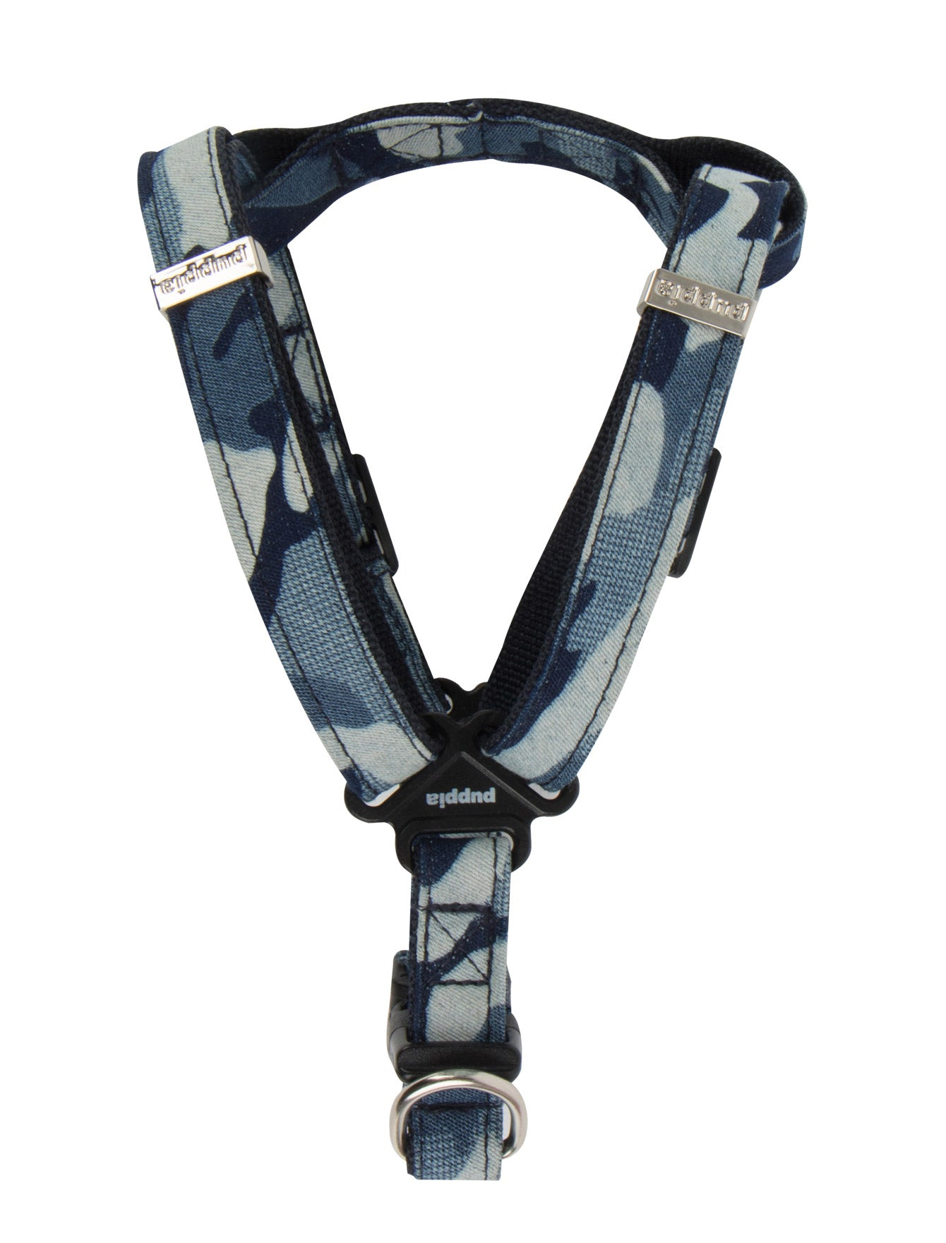 Puppia Navy Camo Bobby Harness for Dogs (3 Sizes) | Perromart Online Pet Store Singapore