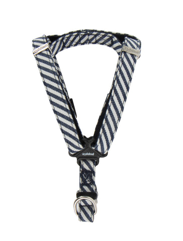 Puppia Stripped Navy Bobby Harness for Dogs (3 Sizes) | Perromart Online Pet Store Singapore