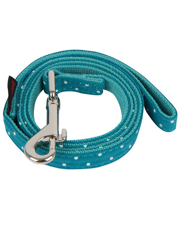 Puppia Teal Dotty Lead for Dogs (2 Sizes) | Perromart Online Pet Store Singapore