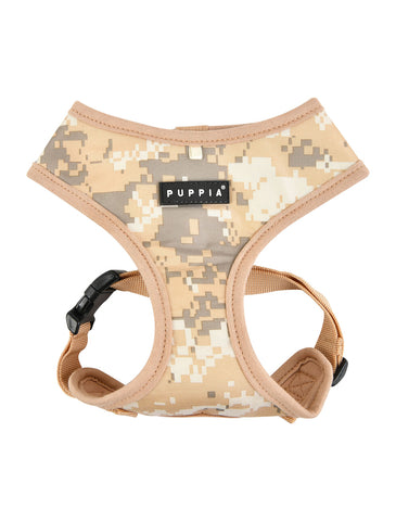 Puppia Beige Camo Sentinel Harness for Dogs (4 Sizes) | Perromart Online Pet Store Singapore