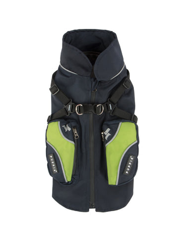 Puppia Navy Teton Outdoor Vest for Dogs (3 Sizes) | Perromart Online Pet Store Singapore