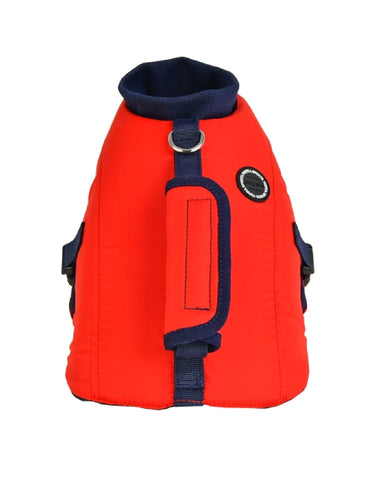 Puppia Red Irwin Life Jacket for Dogs (3 Sizes) | Perromart Online Pet Store Singapore