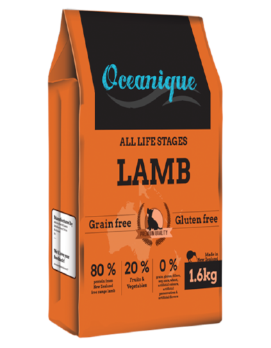 [CLEARANCE] Oceanique Lamb Grain Free Dry Dog Food 1.6kg