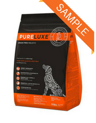 Pureluxe Elite Nutrition Salmon & Split Peas Dry Dog Food - Skin & Coat Sample