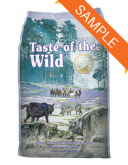 Taste of the Wild Sierra Mountain Canine Dry Dog Food Sample