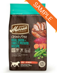 Merrick Grain Free Real Duck & Sweet Potato Dry Dog Food Sample