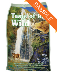 Taste Of The Wild Rocky Mountain Feline Dry Cat Food Sample