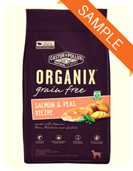 ORGANIX Grain-Free Salmon & Peas Recipe Dry Dog Food Sample