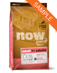 Petcurean Now Fresh Grain Free Fish Dry Dog Food Sample