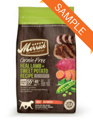 Merrick Grain Free Real Lamb & Sweet Potato Dry Dog Food Sample