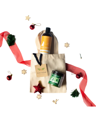 Kin+Kind Christmas Bundle Nourishing Kit for Dogs