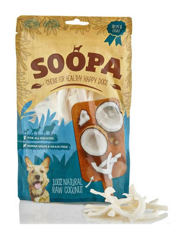 Soopa Natural Raw Coconut Chews | Perromart Online Pet Store Singapore