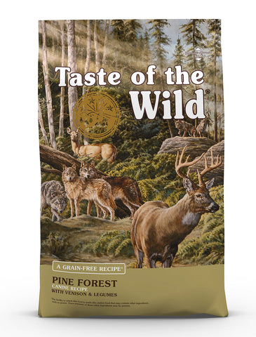 Taste Of The Wild Pine Forest Canine Dry Dog Food | Perromart Online Pet Store Singapore