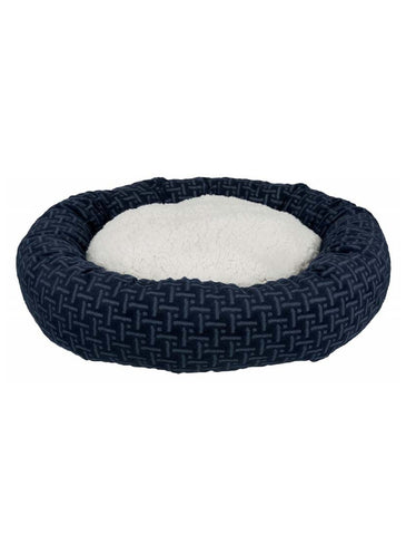 Trixie Ferris Bed Blue/White For Dogs ø 50 cm | Perromart Online Pet Store Singapore