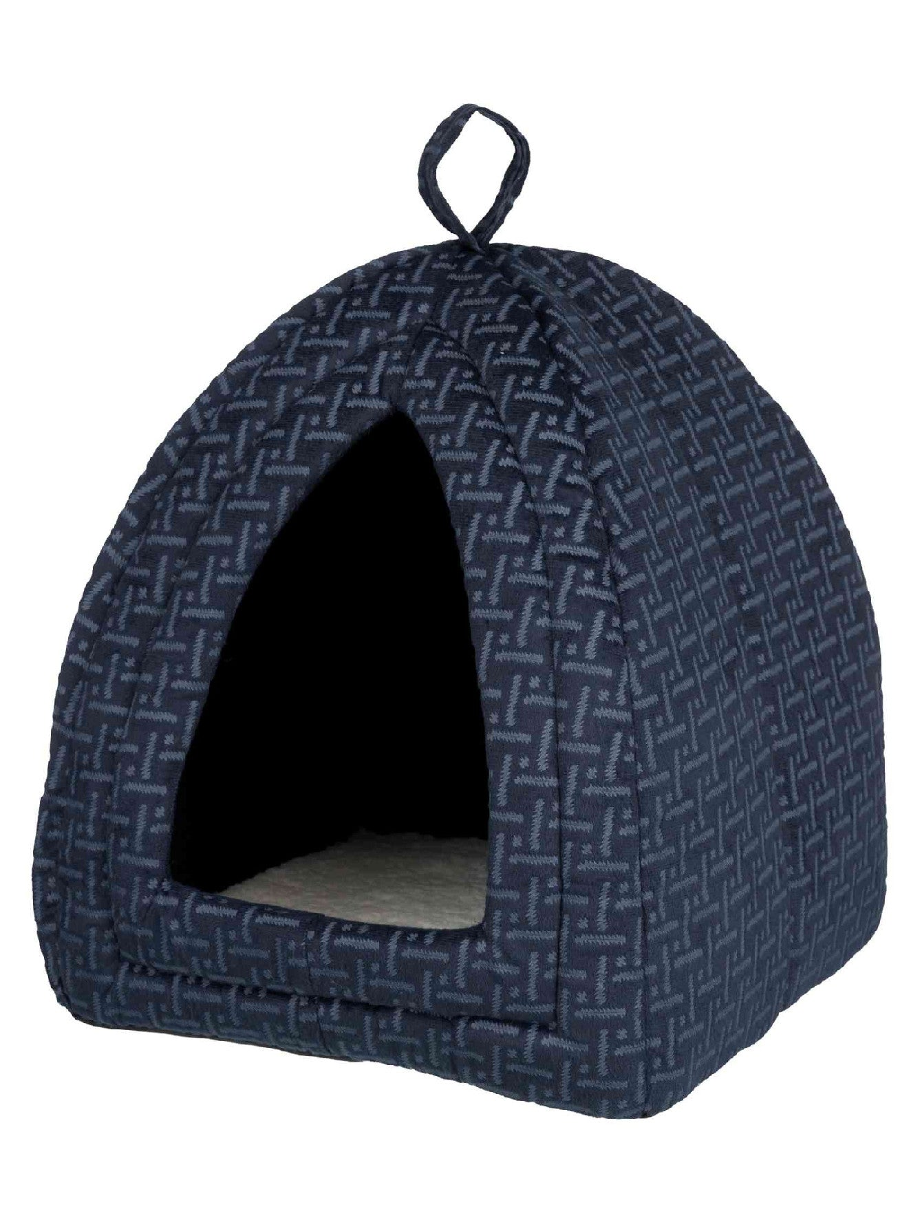 Trixie Ferris Cuddly Cave Blue For Dogs 32 × 42 × 32 cm | Perromart Online Pet Store Singapore