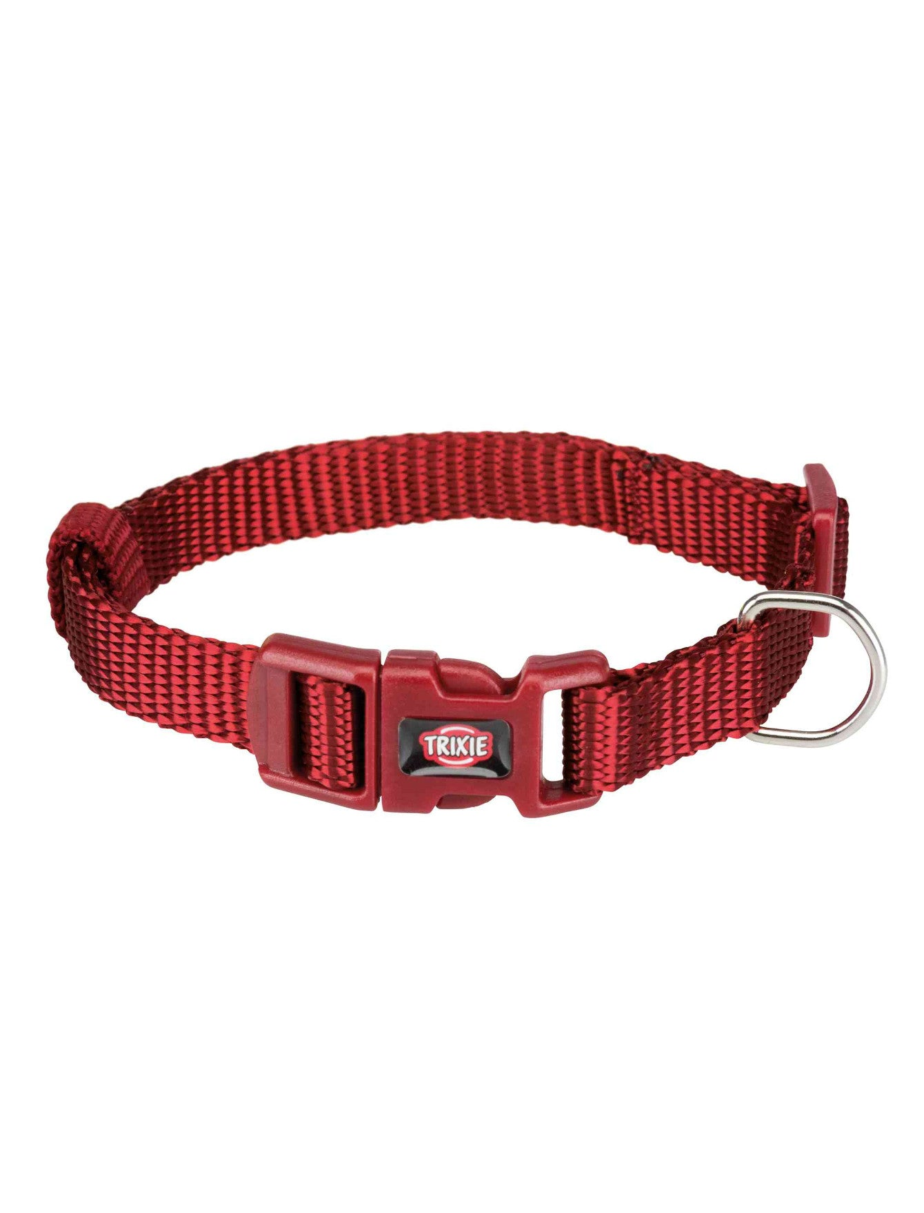Trixie Premium Collar for Dogs - Burgundy (4 Sizes) | Perromart Online Pet Store Singapore