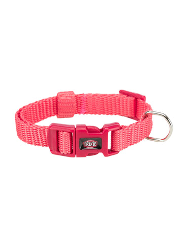 Trixie Premium Collar for Dogs - Coral (4 Sizes) | Perromart Online Pet Store Singapore