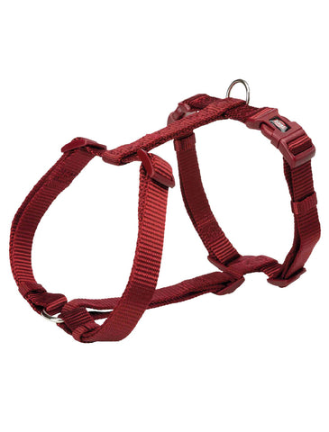Trixie Premium H-harness for Dogs - Burgundy (4 Sizes) | Perromart Online Pet Store Singapore