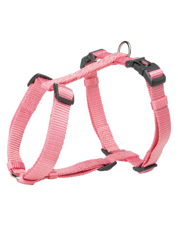 Trixie Premium H-harness for Dogs - Flamingo (4 Sizes) | Perromart Online Pet Store Singapore