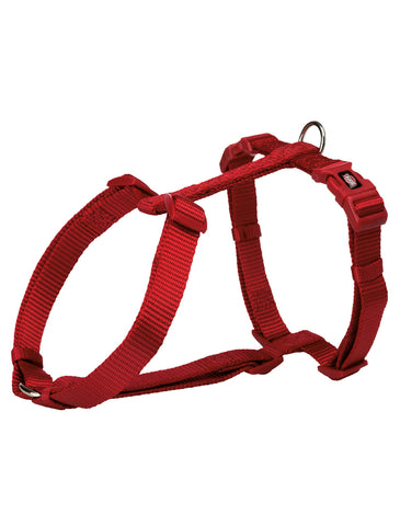Trixie Premium H-harness for Dogs - Red (4 Sizes) | Perromart Online Pet Store Singapore