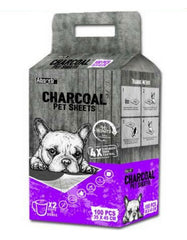 Absorb Charcoal Plus Pet Sheets | Perromart Online Pet Store Singapore