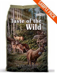 Taste of the Wild Pine Forest Canine Dry Dog Food Sample - Perromart