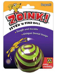 Zoink! Fetch 'n Find Rubber Ball For Dogs ( 2.5in )  | Perromart Online Pet Store Singapore