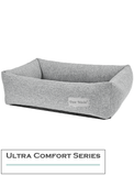 Paw Made Ultra Comfort Rectangle Ramie Cotton Sofa Bed Grey (3 Sizes)