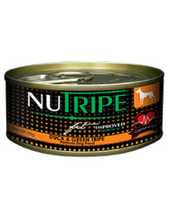 Nutripe Fit Duck And Green Lamb Tripe Canned Dog Food 95g [1 can/12 cans]