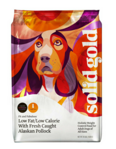 Solid Gold Fit & Fabulous Alaskan Pollock Dry Dog Food | Perromart Singapore