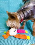 Elite Pet Kozy 2 Legged Cow Dog Toy (2 Colors)