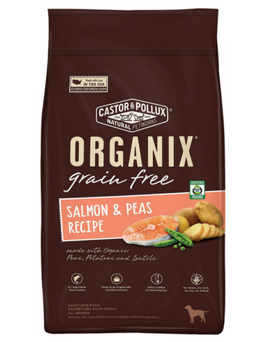 [$29.90 ONLY] ORGANIX Grain-Free Salmon & Peas Recipe Dry Dog Food